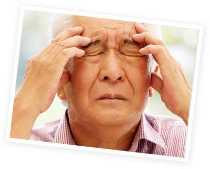 頭痛の様子